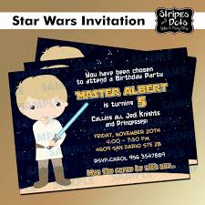 Invitaciones De Star Wars Joda Jedi Darth Vader Star Wars 100 00 En Mercado Libre