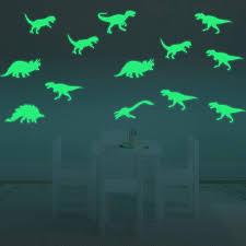 9pcs Set Luminous Wall Sticker Glow In Dark Sticker Kids Room 3d Fluorescent Stickers Dinosaur Shape Wall Decal Home Decors Wall Stickers Dinosaur Stickers Dinosaurewall Sticker Aliexpress