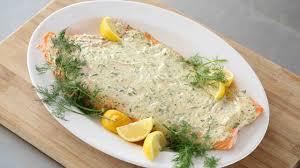 Roasted Salmon with Herbed Greek Yogurt ...