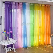 Rainbow Curtains For A Children S Room At Church Home Curtains Curtains For Closet Doors Rainbow Curtains
