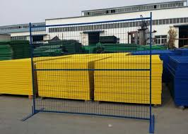 Welded Wire Fence Canada Temporary Fencing 7ft X 8ft Width 30mm X 1 5mm Frame Side Tube