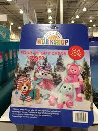 build a bear work four 25 egift