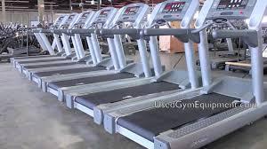used life fitness 95ti treadmills for