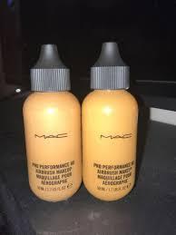 mac pro performance hd airbrush makeup