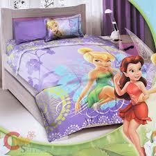 twin size disney tinkerbell fairies