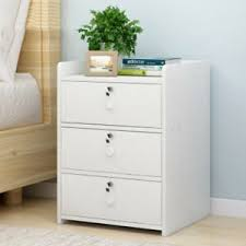 white bedside table cabinet nightstand