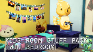 The Sims 4 Kids Room Stuff Pack Twin Bedroom Youtube