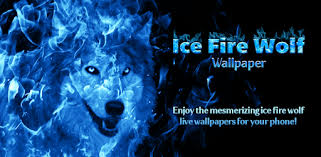 apps like ice fire wolf wallpaper for