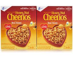 honey nut cheerios 2 bags x 55 oz boxed