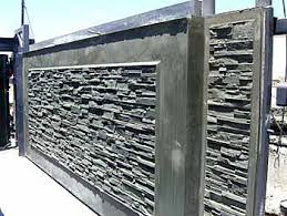 Concrete Fence Mold Aftec Fence Forming Systems