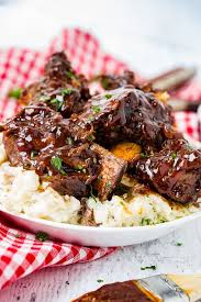 sticky bbq instant pot short ribs the
