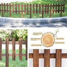 Womdee Expanding Wooden Instant Panels Picket Border For Lawn Festoon Garden 62x35 Cm Amazon In Home Kitchen