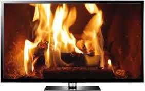 fireplace screen plce screensaver