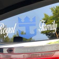 Royal Caribbean Inspired Car Decal Cruise Giftedc Etsy