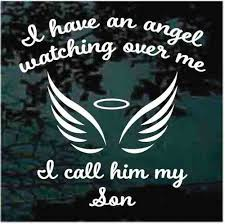 Angel Car Decals Stickers Decal Junky