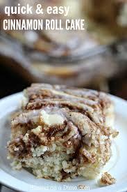 cinnamon roll cake recipe breakfast