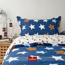home textile unique colorful star duvet