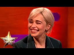 Brad Pitt Bid $120k For A Night With Emilia Clarke! | The Graham Norton  Show - YouTube