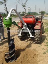 Hydraulic Earth Auger Hole Digger Fence Post Drill Auger Drill Buy Post Hole Digger Auger Soil Drilling Earth Auger Post Hole Digger Product On Alibaba Com