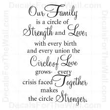 quotes about family support and strength quotes