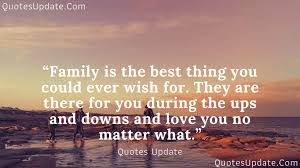 short inspirational family quotes and family sayings