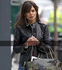 distress leather biker jacket