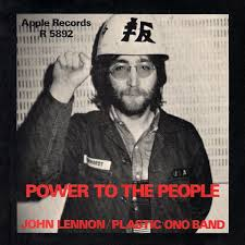 """John Lennon - """"Power to the people!"""" #OnThisDay, 12th... 