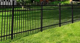The Osprey Fence Panel Features A 3 Rail Design And A Powder Coated Finish More Durable And Long Lasting Than Paint Fence Panels Fence Backyard Landscaping