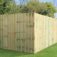 Pressure Treated Pine Dog Ear Fence Panel U S Barricades C U S Barricades Traffic Control Pedestrian Safety Products