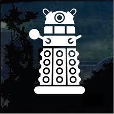 Dr Who Dalek Window Decal Sticker Custom Sticker Shop