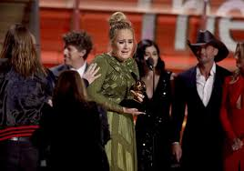 Adele sweeps Grammys Awards with 5 wins, while Bowie wins 4   News    tribdem.com