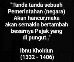 a s tweet ibnu khaldun seorang sejarawan muslim dari