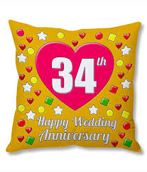 34 wedding anniversary gifts