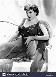 CLAUDETTE COLBERT ACTRESS (1938 Stock Photo - Alamy