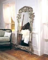 antique floor mirror with stand comfy