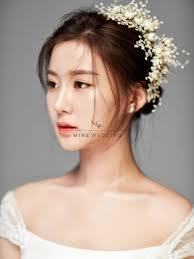 korean wedding makeup hairstyling