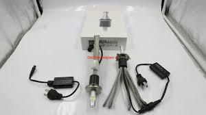 Đèn Pha Led ô tô xe máy công nghệ Mỹ L7 chip Cree XHP70 60W 13200LM 12V