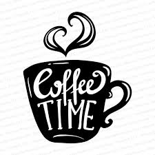 Coffee Time Vinyl Decal Personalized Gifts Business Promotional Items Custom Printed Clothing Photo Gifts Signs Vehicle Graphics More