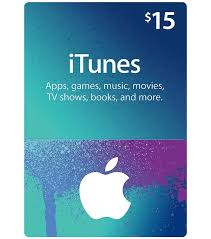 itunes gift card 15 us email