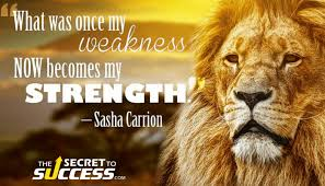 Image result for weakness into strength