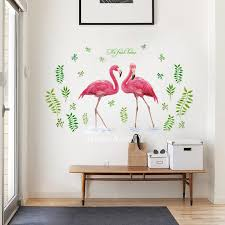 Bird Wall Stickers Girls Room Letter Fairy Pvc Home Decor Self Adhesive