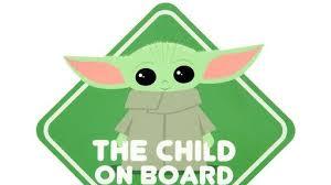 Star Wars The Mandalorian The Child On Board Car Decal News Break