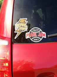 Do Pj Show Stickers Fade On Cars Pearl Jam Community