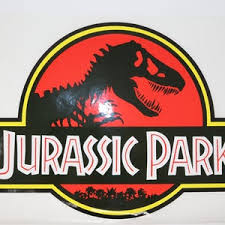 Jurassic Park Logo Vinyl Sticker Decal Car T Rex Raptor Jeep Etsy