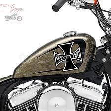 Cross Decal Fairing Stickers Fuel Tank Decals Vinyl Sticker For Harley Sportster Xl1200v 72 Decals Stickers Aliexpress