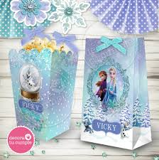 Kit Imprimible Frozen 2 Disney Decora Tu Cumple