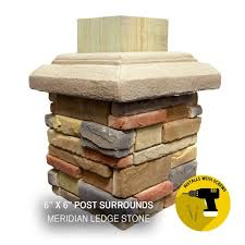 P Series 6 X 6 Post Surrounds M Rock Stone Solutions