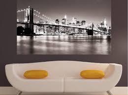 New York Street Wall Decal City Themed Jets Design Skyline Sticker Uk Silhouette Vamosrayos