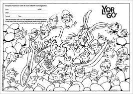 Yorlogo Kleurplaat Paashaas