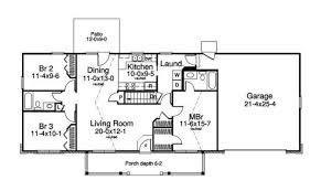 ranch style home floor plans